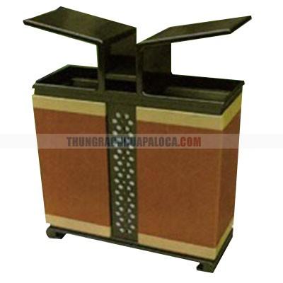 Thùng rác kim loại giá rẻ TPG-C1016