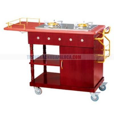 Xe phục vụ bàn có bếp nấu ăn TLJWY94