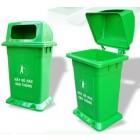 Thùng rác nhựa có nắp|thùng rác Hà Nội