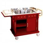 Tủ bếp di động có bếp ga nấu ăn tại bàn TLJWY84