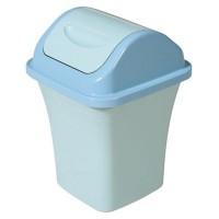 Thùng rác nhựa nắp lật AF07024