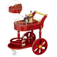 Giá để rượu có bánh xe đẩy cao cấp TLJWY110