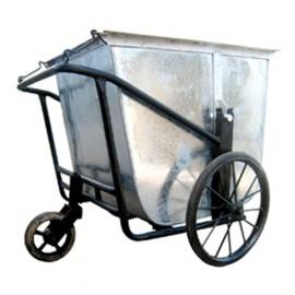 Xe thu gom rác bằng tôn 3 bánh VNSD400